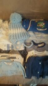 assortment of baby grows small baby and first size