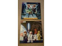 Lego Star Wars Canvas x 2