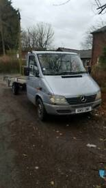 Mercedes 311 cdi recovery truck