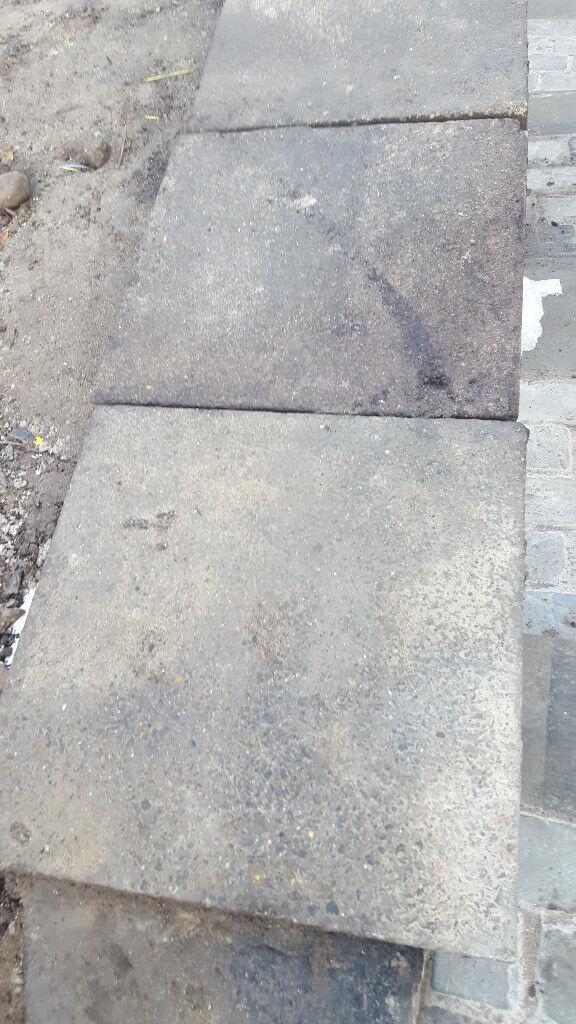 Reclaimed Concrete Paving Slab - 600mm x 600mm x 50mm