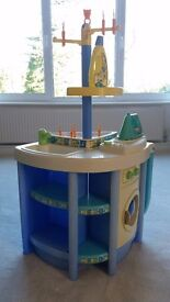 Smoby toy kitchen washing machine, ironing board, sink, clothes airer, laundry system RARE Excellent