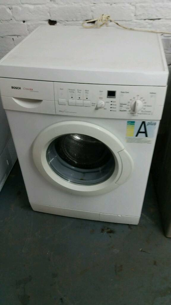 BOSCH classixx WHITE DIGITAL DISPLAY WASHING MACHINE