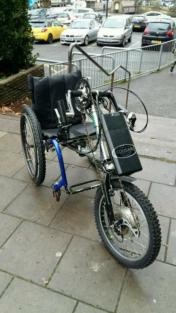 Electric Wheelchair Power Trike, Mobility scooter, Cougar Powered