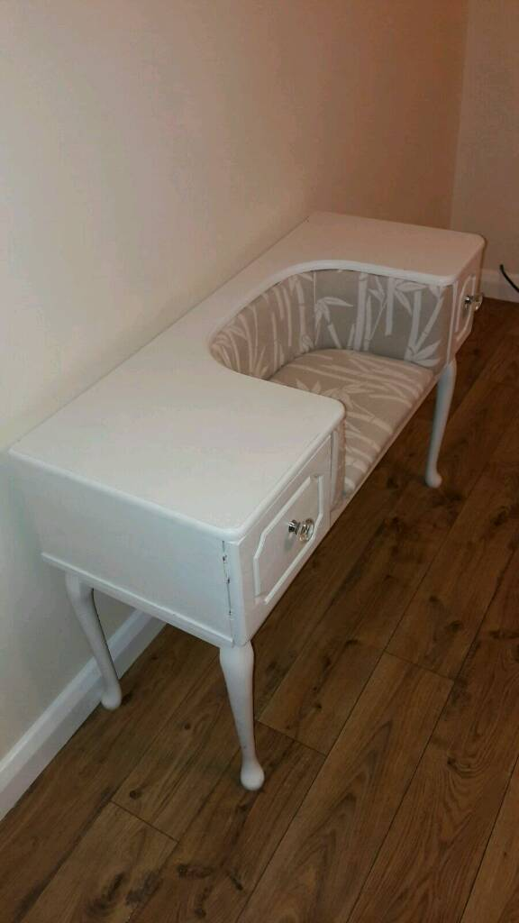 Gorgeous Upcycled hall table. Sale due to house move