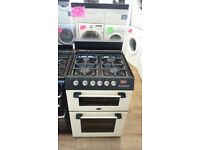 CANNON 60CM ALL GAS COOKER IN CREAM WITH LOD