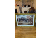 2 off framed picture set . Period effect. Very good condition
