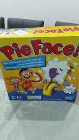 Pie face only used twice