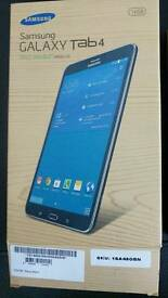 BNIB Samsung Galaxy Tab 4. WiFi and 4G.