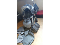 Silver cross Cargo pram, pushchair, buggy grey