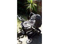 MYCHILD Magnet Reversible pushchair + Car seat(Silver Cross)
