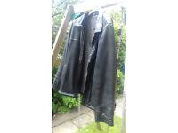 Ciro Citterio Black Leather Jacket XXL