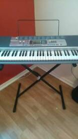 Casio electric keyboard with stand £25