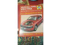 Vauxhall vectra car manual