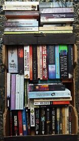 Box of Paperback fiction