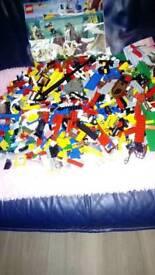 Large amount of Lego