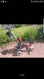 Push Along Trike Avigo-4-in-1