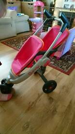 Quinny Baby doll Double Pushchair