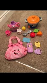 Fisher-price and Leap Frog toy bundle