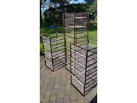 Storage Racks with Baskets - Elfa