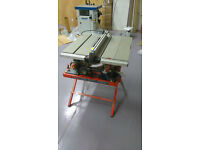 BOSCH GTS10 TABLE SAW WITH LEG STAND, REASONABLE WORKING CONDITION
