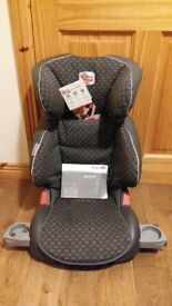 For Sale a Brand New BRITAX Junior Child Car Seat,Back Recliner&Side Impact Support £65!BARGAIN !
