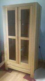 Elmwood oak cabinet Brand New £295 ono