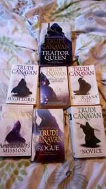 Black magician trilogy