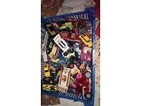 large lot Toy cars Corgi Matchbox 50 plus
