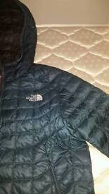 The North Face Jacket Mens Medium Thermoball New Tags Blue Green