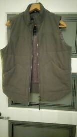 mens Armani body warmer