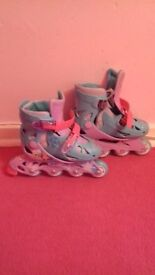 Girls Frozen Rollerblades