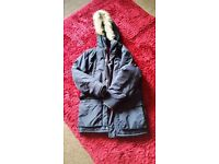 As New Condition Next Navy Duffel Coat