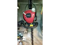 petrol hadge trimmer sovereign and trimmer homelite full working