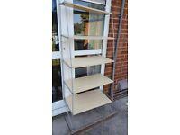 Excellent condition detachable shelves