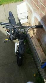 Kids little black bike spares or repair £5