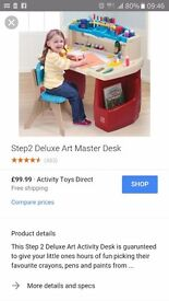 Step 2 Deluxe Art Master Desk