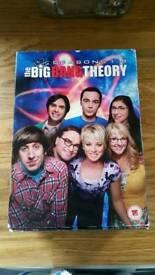 Big Bang Theory Series 1-8