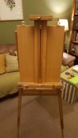 French foldable easel