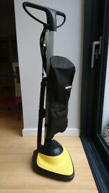 Karcher FP 303 Cleaner & Hard Floor Polisher Buffer plus soft/hard brushes