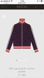 Gucci Jacquard Cotton Jacket