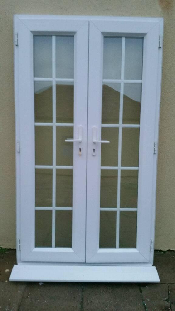 Upvc Frenchpatio Doors Excellent Condition Georgian In