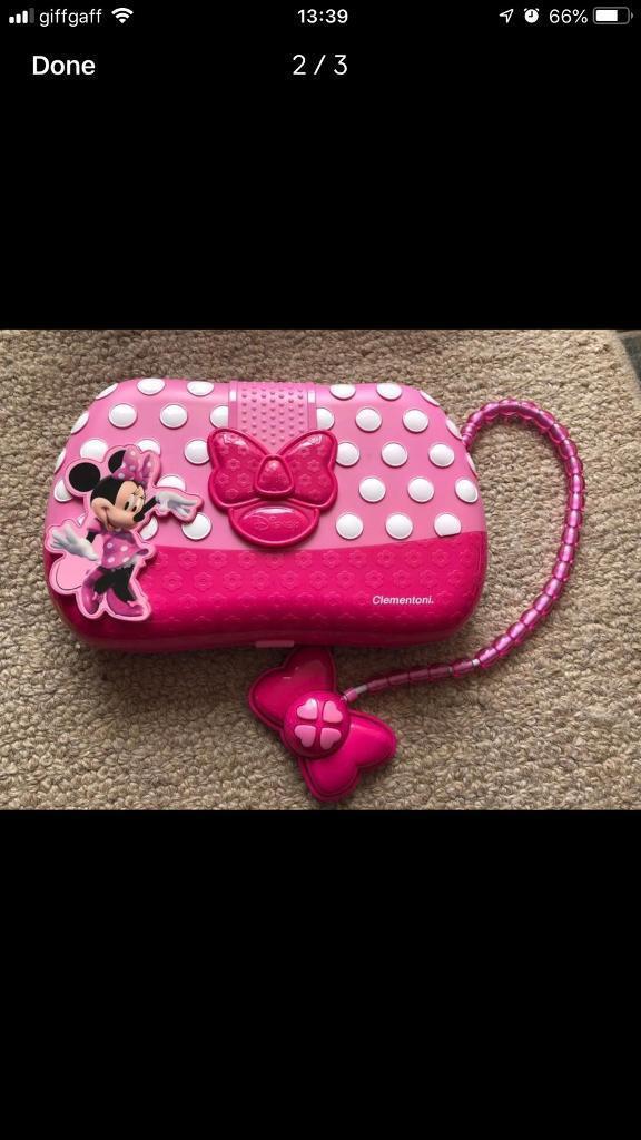 Minnie Mouse Kids Clementoni Laptop Handbag