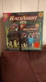 Race night dvd game .. BRAND new
