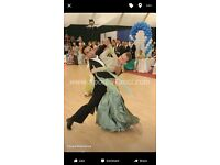Ballroom dance (standard) dress for competitions, good condition