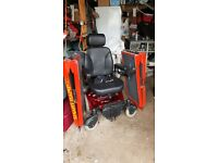 Electric wheelchair and ramps £ 250 or near offer