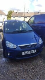 Ford c max good condition low milage £1200 of recipts for maintenance cambelt etc changed at 63000