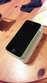 iPhone 5c - unlocked and green