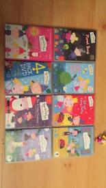 Ben & Holly DVD bundle with small Holly doll, GUC