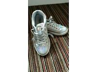 Silver truffle trainers