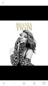 Shania Twain x 2 tickets 19th September